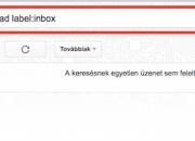 Gmail olvasatlan levelek listázása