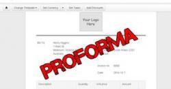 Proforma, díjbekérő online számla generátor