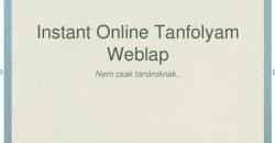 Prezentáció beágyazása weblap tartalomba