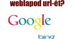Drupal lady gyorstipp - Hogyan küldd be weblapod URL-ét a keresőbe(Google, Yahoo, Bring)?